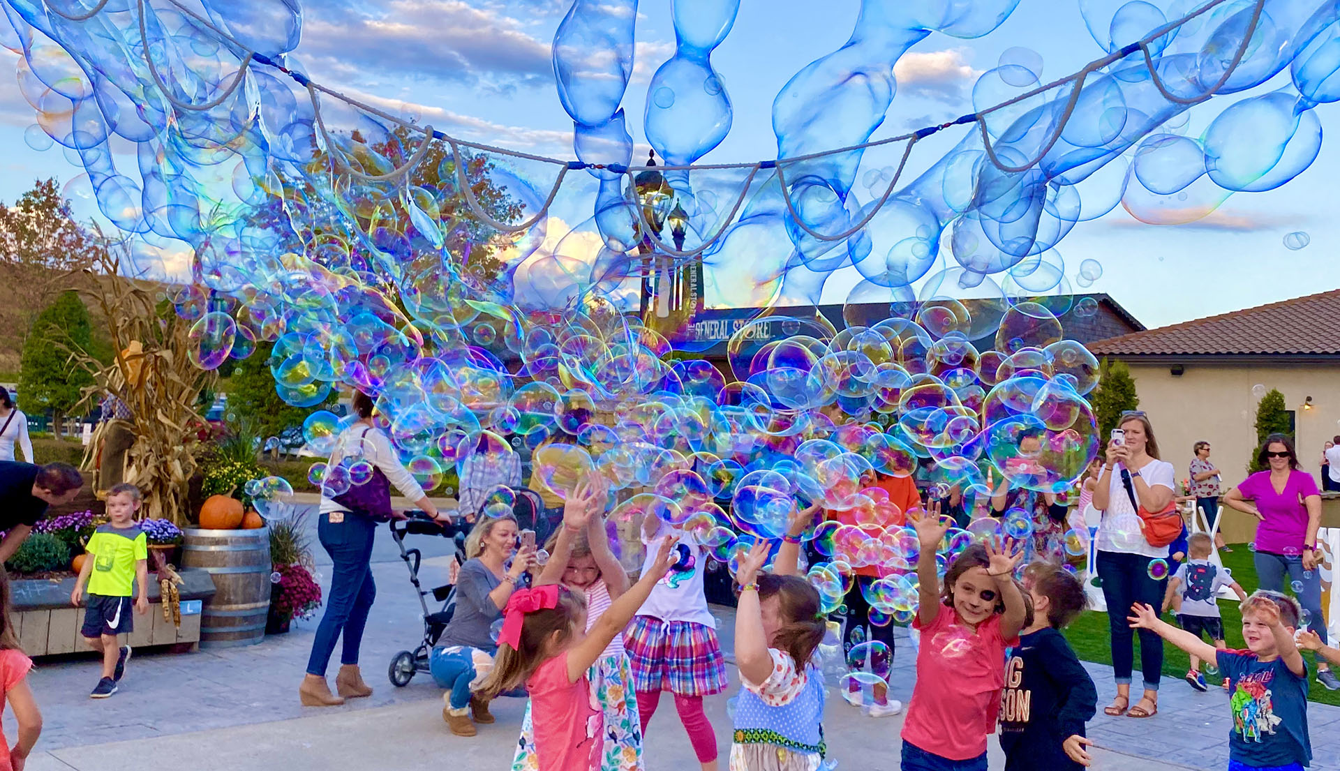 Kids Love Steve's Outdoor Bubbles